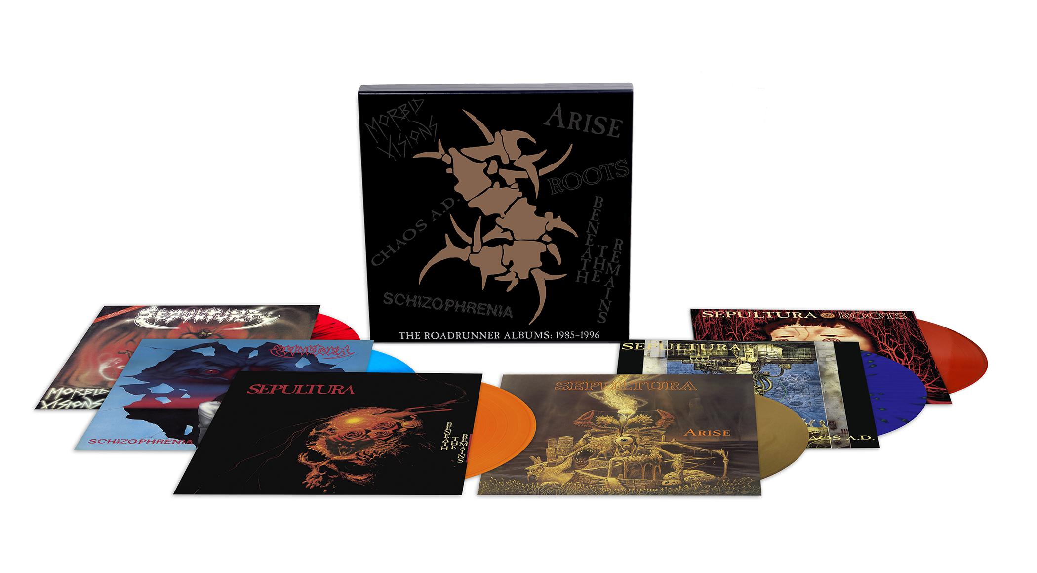 The Roadrunner Albums 1985 1996 Rhino Media