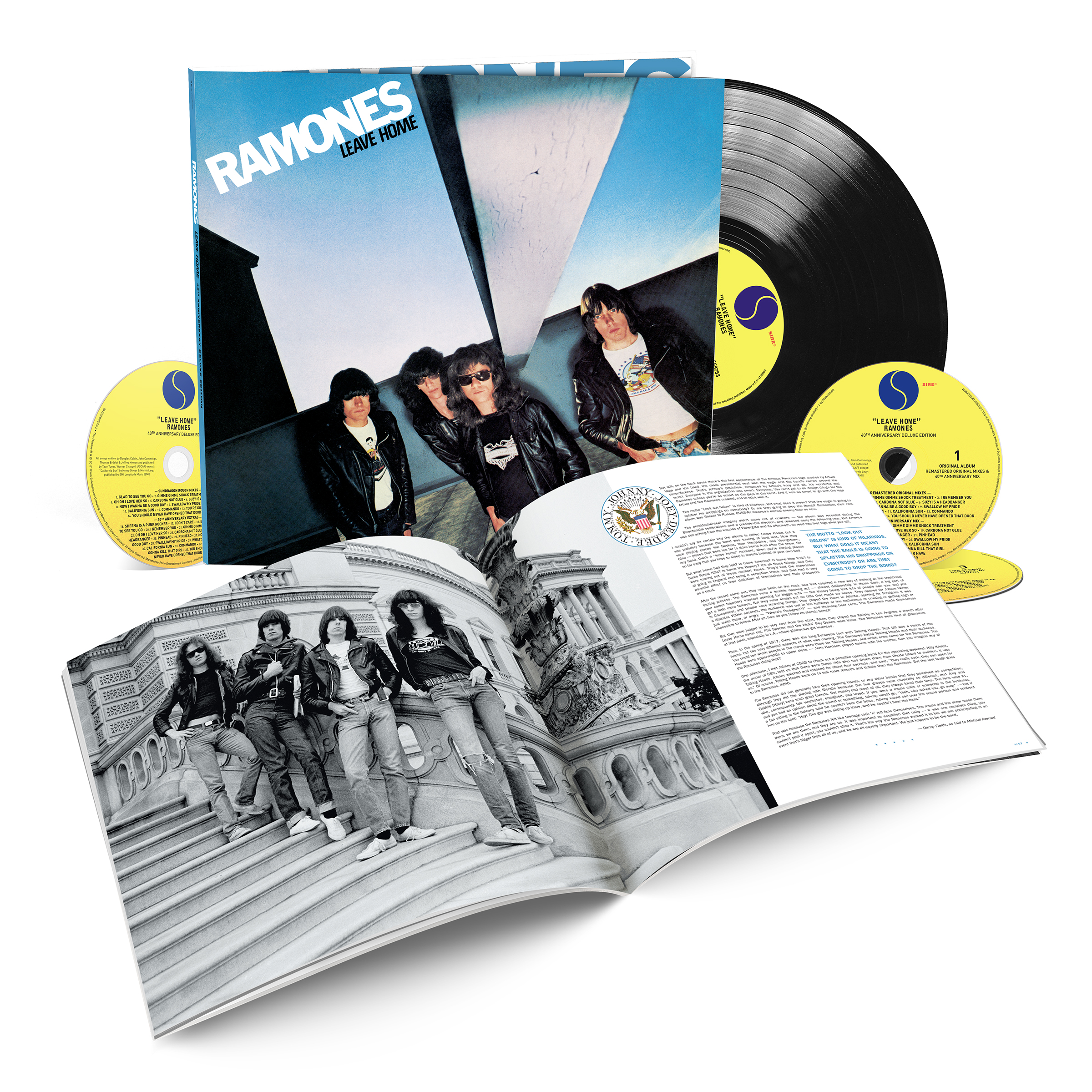 Leave Home 40th Anniversary Deluxe Edition Rhino Media