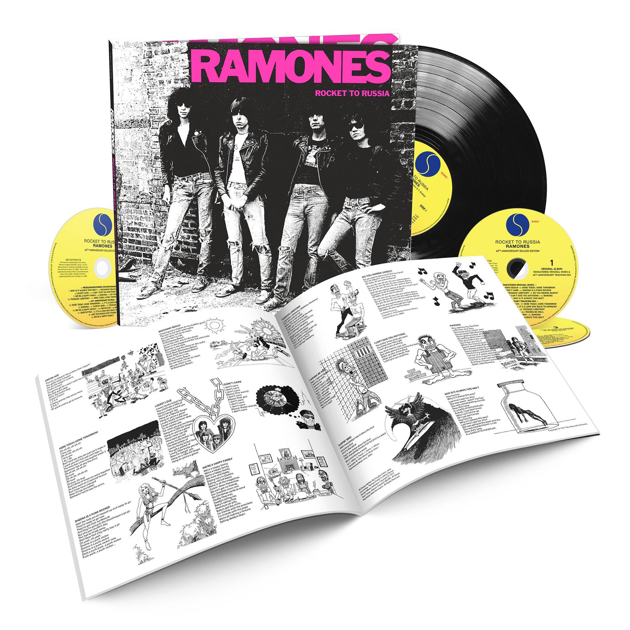Ramones Rocket To Russia 40th Anniversary Deluxe Edition
